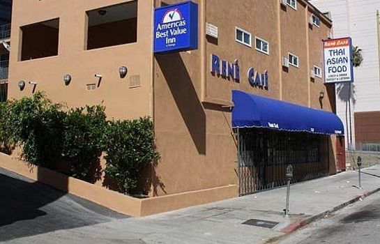 Exterior view Americas Best Value Inn-Los Angeles/W 7th Street