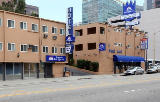 Buitenaanzicht Americas Best Value Inn Los Angeles at W 7th St
