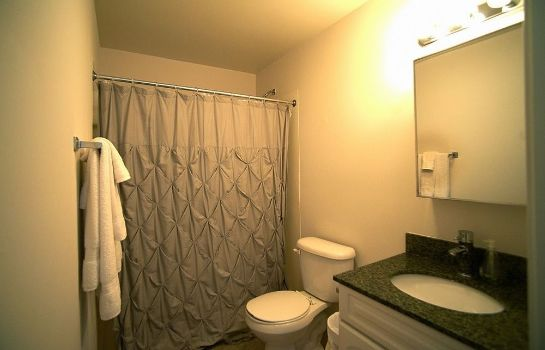 Badkamer Pittsfield Apartments + Suites