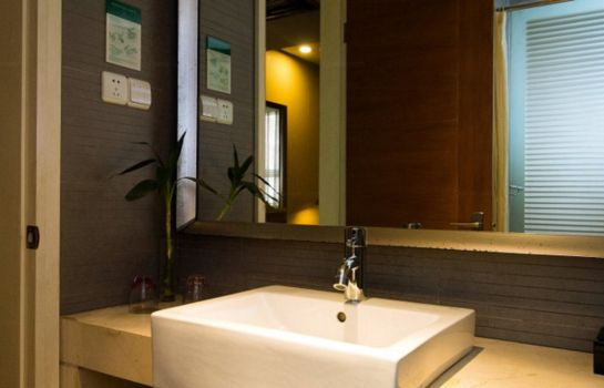 Bagno in camera Hangzhou LiTing Hotel