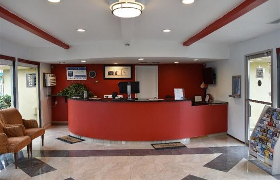 Hol hotelowy Travelodge Red Bluff