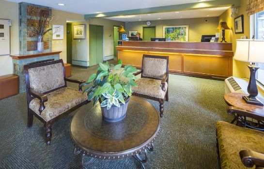 Receptie Accent Inn Vancouver Airport Hotel