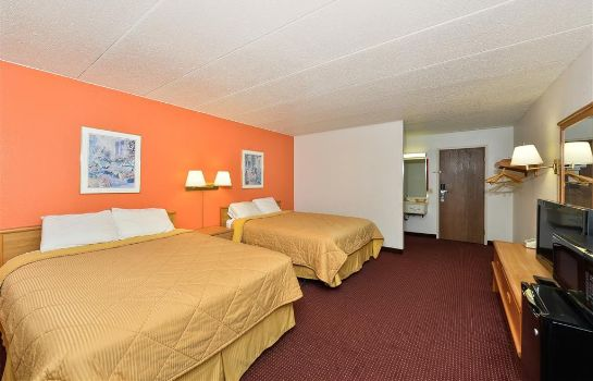 Chambre Americas Best Value Inn Omaha