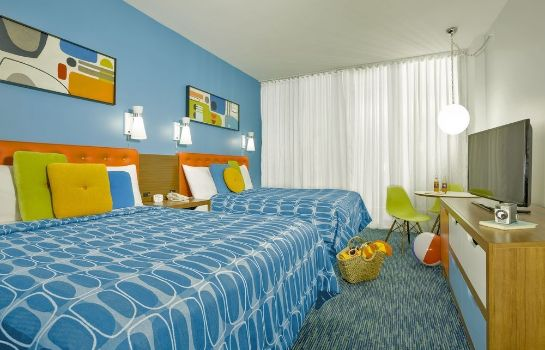 Standardzimmer Universal's Cabana Bay Beach Resort