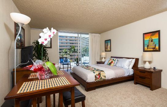 Standard room Tropical Studios at Marine Surf Waikiki