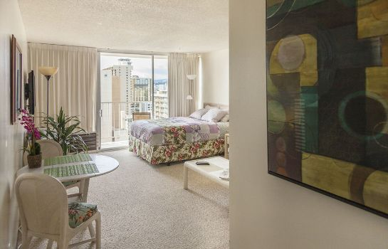 chambre standard Tropical Studios at Marine Surf Waikiki