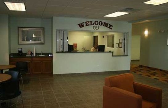 Hol hotelowy Days Inn and Suites Columbus East