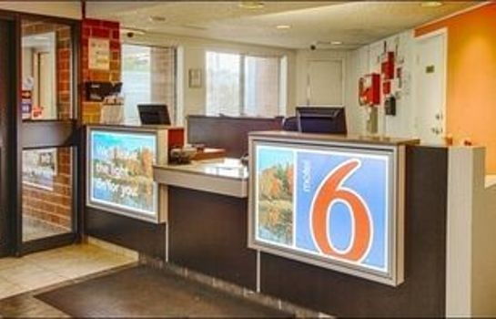 Recepcja New York Motel 6 Albany