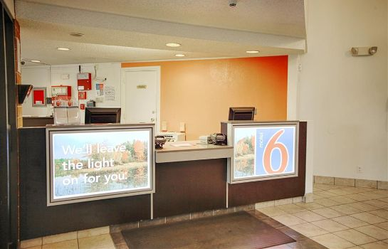 Hotelhalle New York Motel 6 Albany