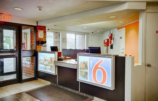 Hol hotelowy New York Motel 6 Albany