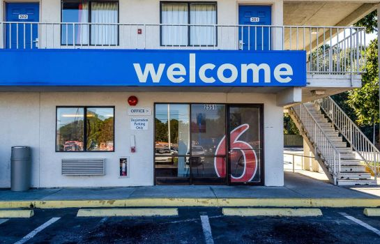 Vista exterior Motel 6 Charleston North SC