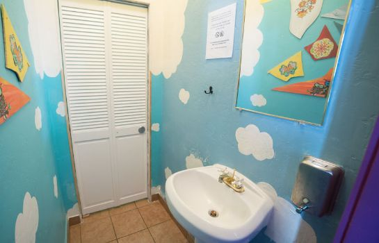 Bagno in camera ITH Adventure Hostel San Diego