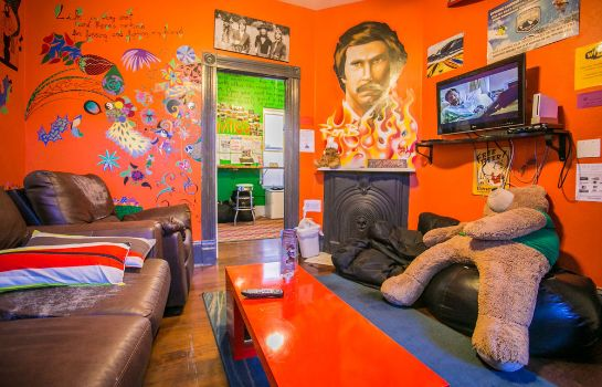 Hall ITH Adventure Hostel San Diego