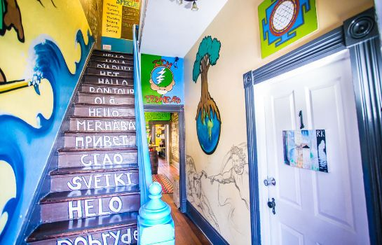 Vista all'interno ITH Adventure Hostel San Diego