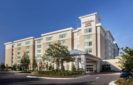 Außenansicht SpringHill Suites Orlando at Flamingo Crossings/Western Entrance