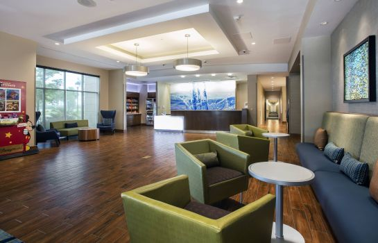Hotelhalle SpringHill Suites Orlando at Flamingo Crossings/Western Entrance