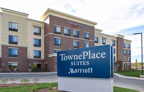 Außenansicht TownePlace Suites Detroit Commerce