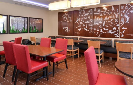 Restauracja TownePlace Suites Detroit Commerce