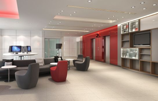 Lobby Red Planet Bangkok Surawong