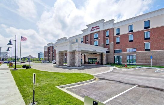 Vista exterior Hampton Inn - Suites Detroit-Troy