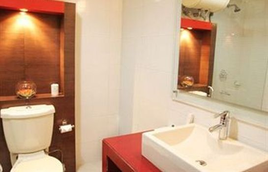 Bagno in camera Hotel Chirag Residency