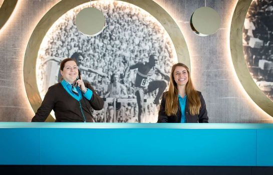 Hotelhalle Motel One München-Olympia Gate
