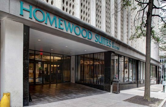 Vue extérieure Homewood Suites by Hilton Richmond-Downtown