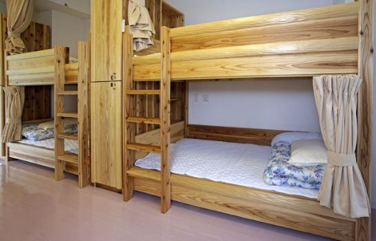 Single room (standard) Utano Youth Hostel
