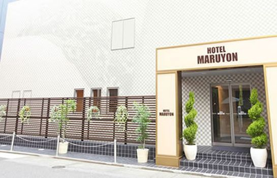 Exterior view Business Hotel Maruyon
