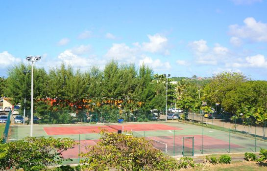 Campo de tennis Residence Prao Karibea Beach Resort Gosier
