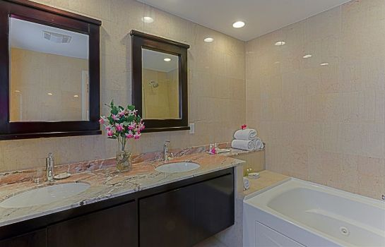 Bagno in camera Princess Heights Luxury Boutique Condo Hotel