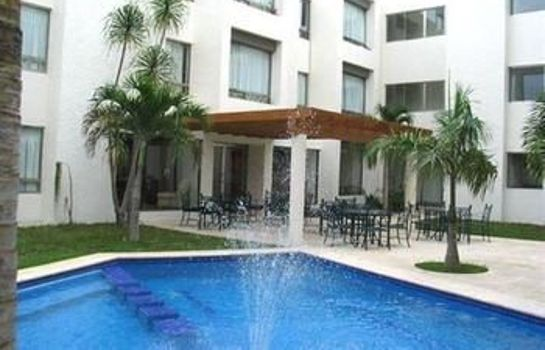 Exterior view Ambiance Suites Cancun