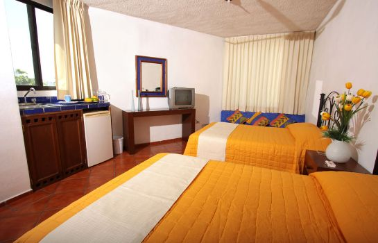 Chambre quadruple Hotel Los Girasoles Cancun