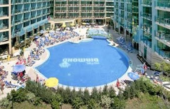 Vista esterna Diamond Hotel-All inclusive
