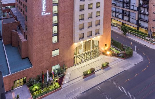 Exterior view DoubleTree by Hilton Bogota - Calle 100