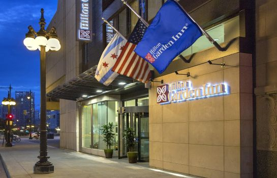 Buitenaanzicht Hilton Garden Inn Chicago-North Loop