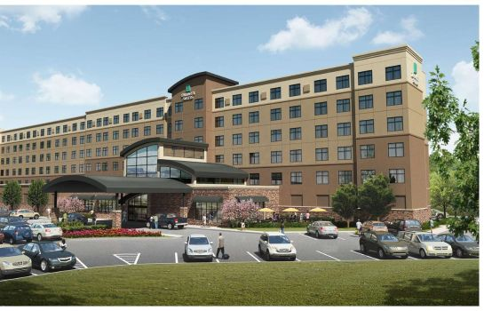 Vista exterior Embassy Suites by Hilton Akron Canton Airport