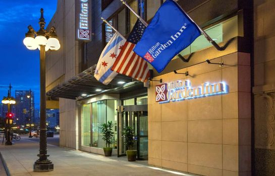 Außenansicht Hilton Garden Inn Chicago Downtown Riverwalk