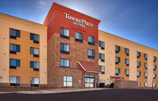 Vista exterior TownePlace Suites Dickinson