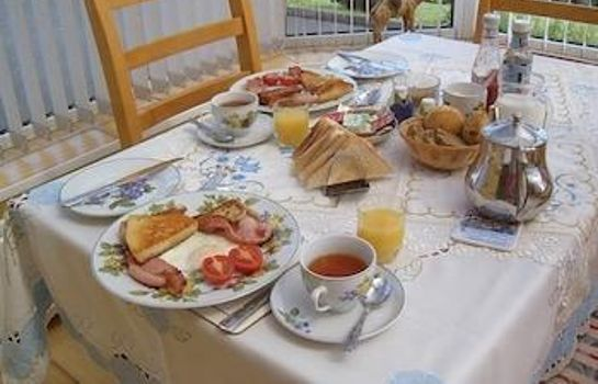 Sala de desayuno Garron View Bed and Breakfast