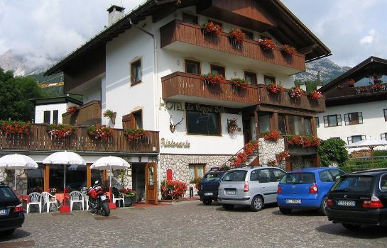 Exterior view Hotel da Beppe Sello