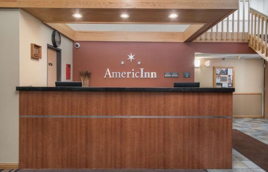 Hall de l'hôtel AmericInn Lodge & Suites Bemidji