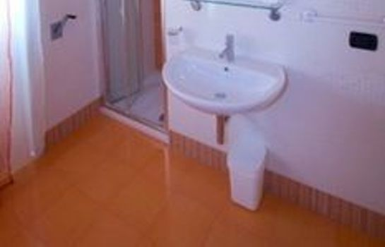 Bagno in camera iBorgia b&b