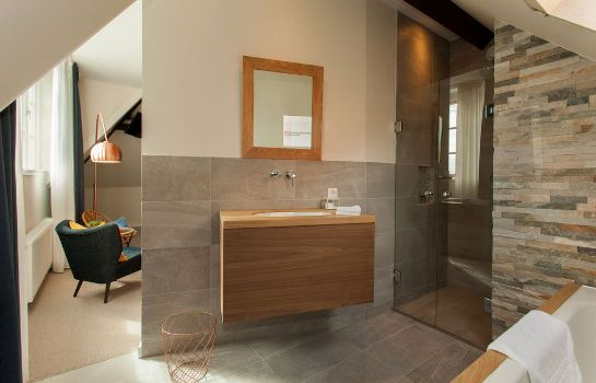 Bagno in camera La Paulowna Boutique Hotel