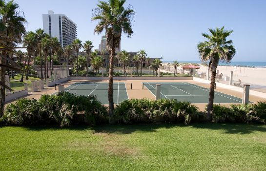 Campo de tennis Isla Grand Beach Resort