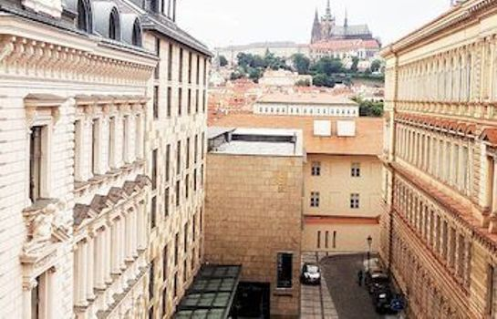 Chambre individuelle (standard) Castleview Apartment Prague