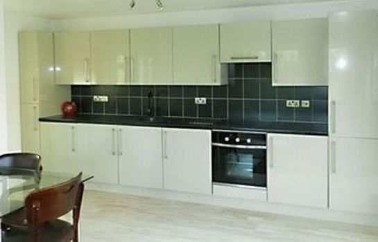 Kitchen in room The Villa Holiday Cottage Apartment Neston Wirral Cheshire