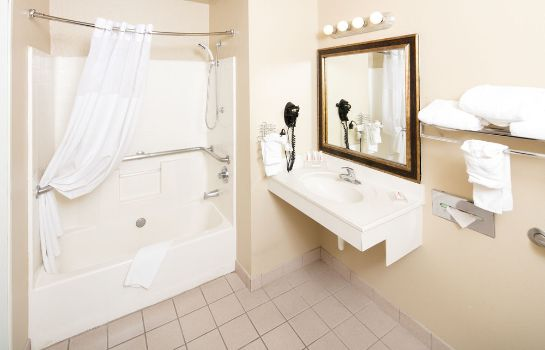 Bagno in camera Baymont by Wyndham Albuquerque Airport