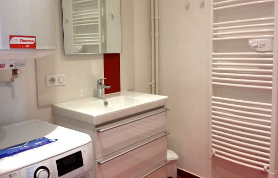 Bagno in camera Appartement Neuilly