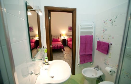 Bagno in camera Bed and Breakfast Anxa